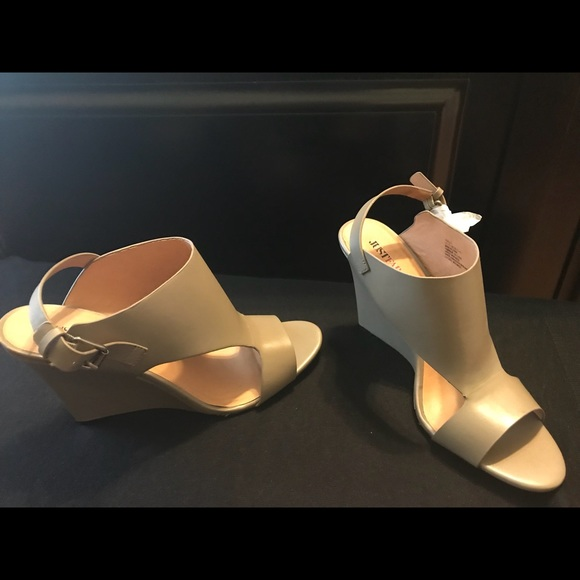 Shoes - Wedge Sandals never worn